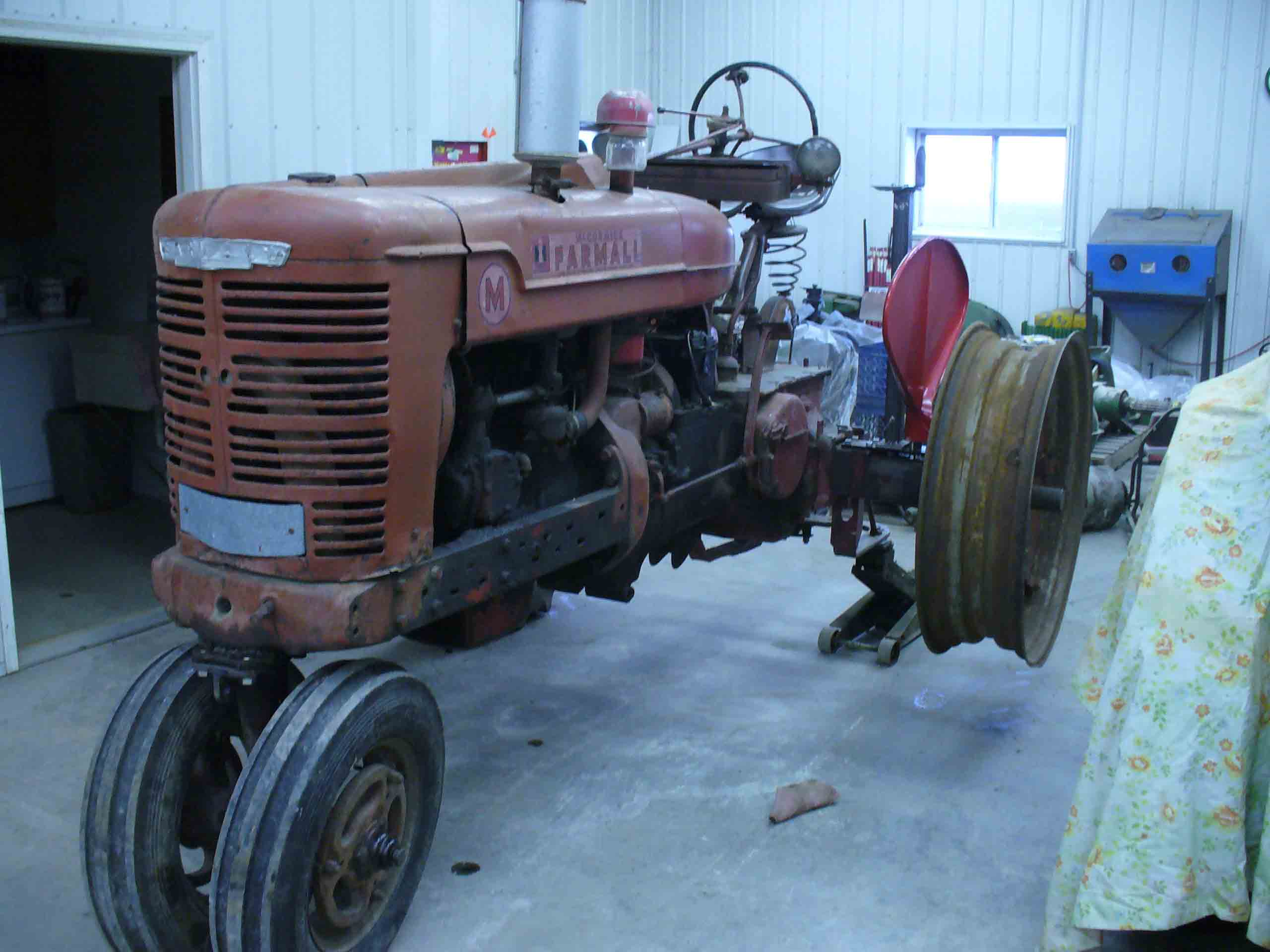 Tractor Restoration Projects : Restoration projects scott s tractor